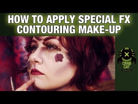 HOW-TO APPLY CONTOUR MAKE-UP: Try This At Home w/ Crabcat ...