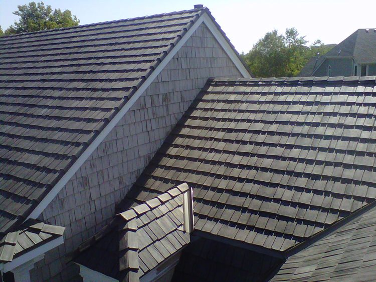 Single Width Synthetic Fancy Cedar Shake Shake Roof Roof Architecture Roofing