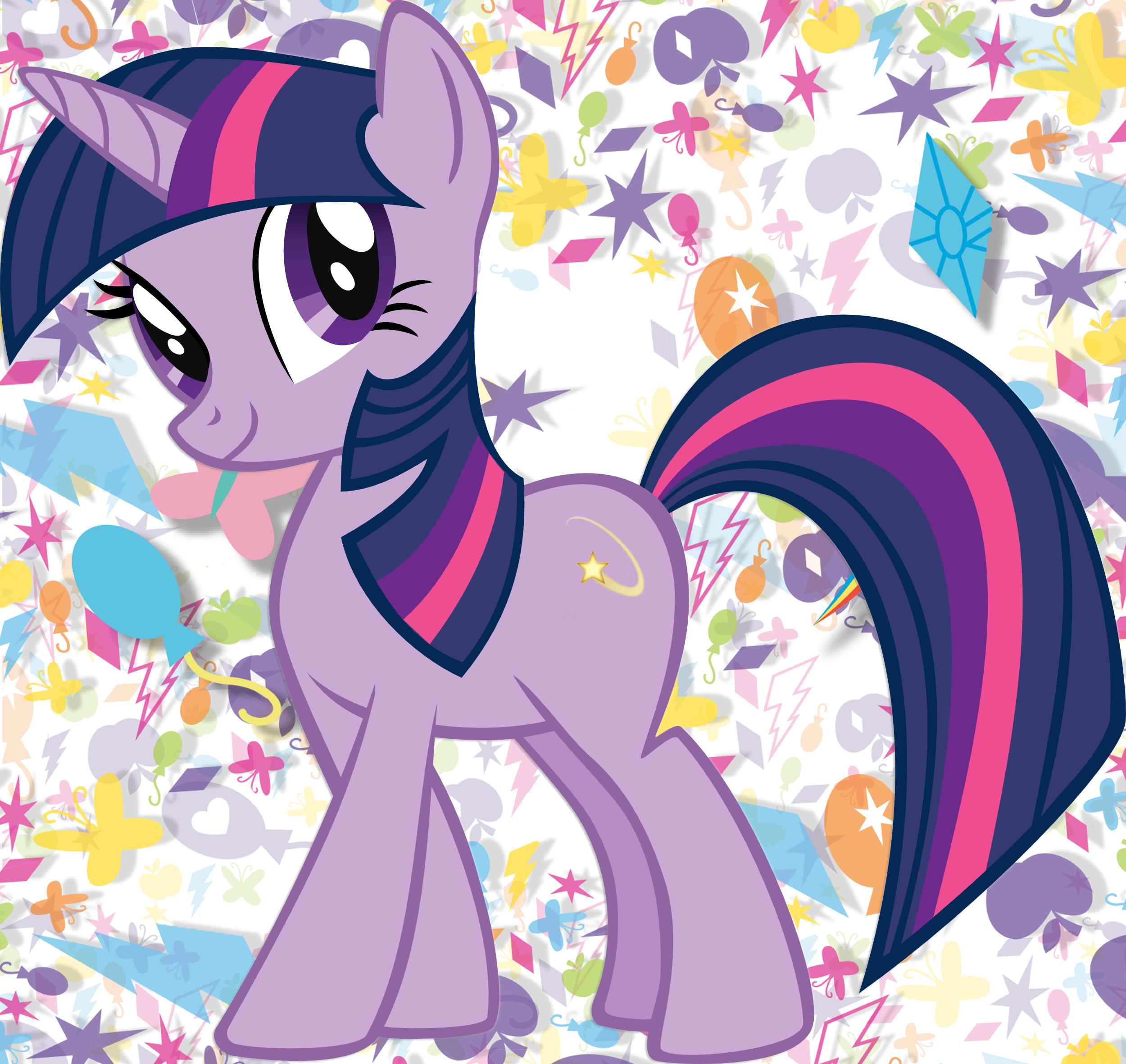 Twilight Sparkle Shooting Star Emoji Cutie Mark