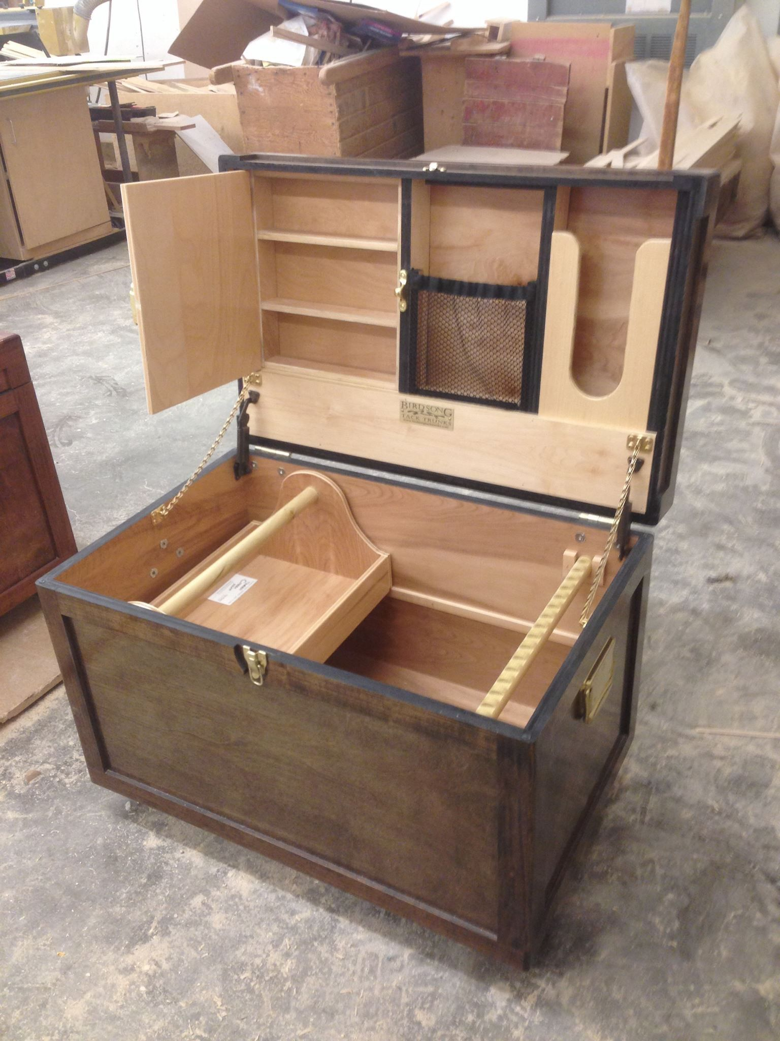 Tack trunk lid ideas art projects pinterest tack for Tack cabinet plans