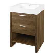 Hudson Reed Dunbar Textured Oak Basin Cabinet W600 X D480mm Fdb002 Medium Image Basin Cabinet Bathroom Vanity Units Oak Vanity Unit
