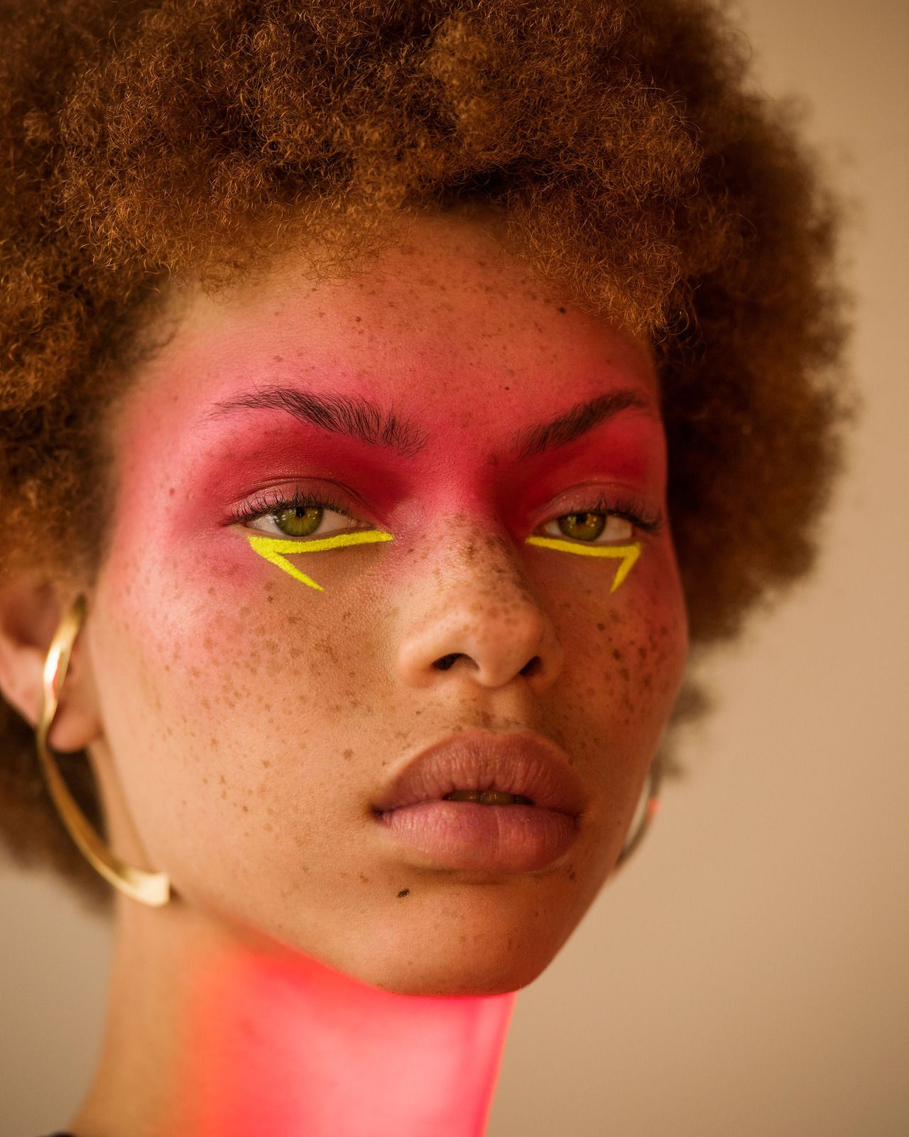 """Dandere Dark Haired Hybrid Girlâ""""¢ #makeupart"""