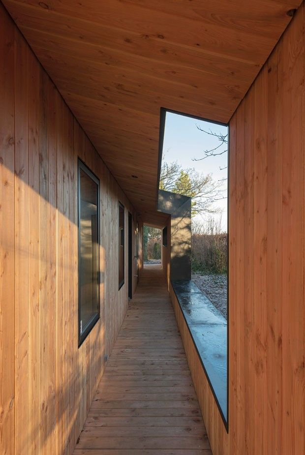 Arquitetura de casa dinamarquesa inspira-se em mat