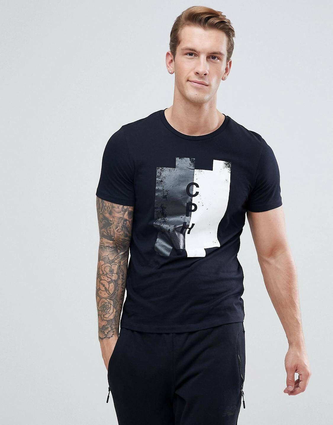 b7f977c7 Jack & Jones Premium Printed T-Shirt | Ss19 menswear | Jack jones、T ...