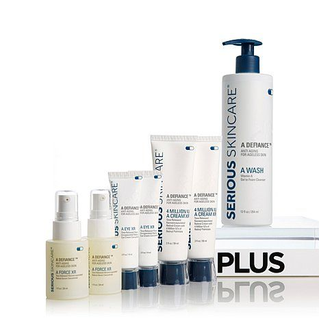 Serious Skincare Age Defy Double Up Kit At Hsn Com Skin Care Age Defying Hsn