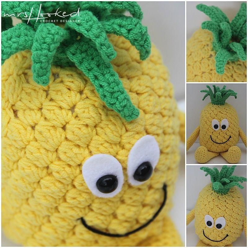 Anna Ananas Vitamini Fruit Haken Haakpatroon Zomer