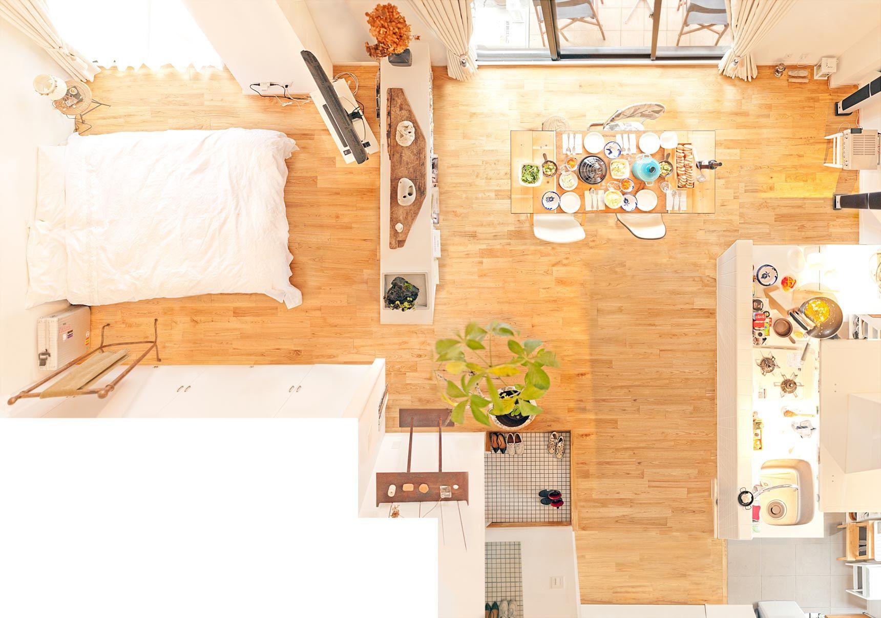 狭くても諦めない 賃貸 間取りのチョイスと家具配置の実例まとめ インテリア 1dk ふたり暮らし インテリア インテリア 一人暮らし 1ldk
