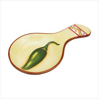 CHILI PEPPER SPOON REST | For the Home | Pinterest | Spoon rest