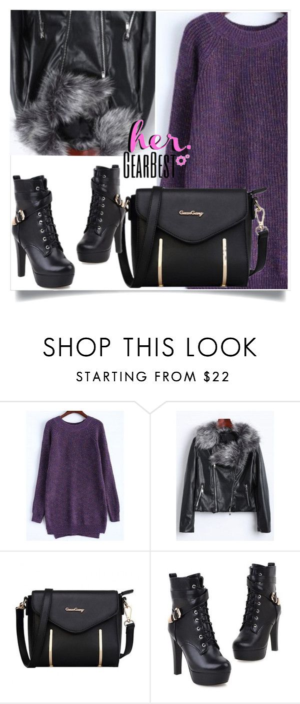 """""""GearBest Lady 5"""" by mell-2405 ❤ liked on Polyvore"""