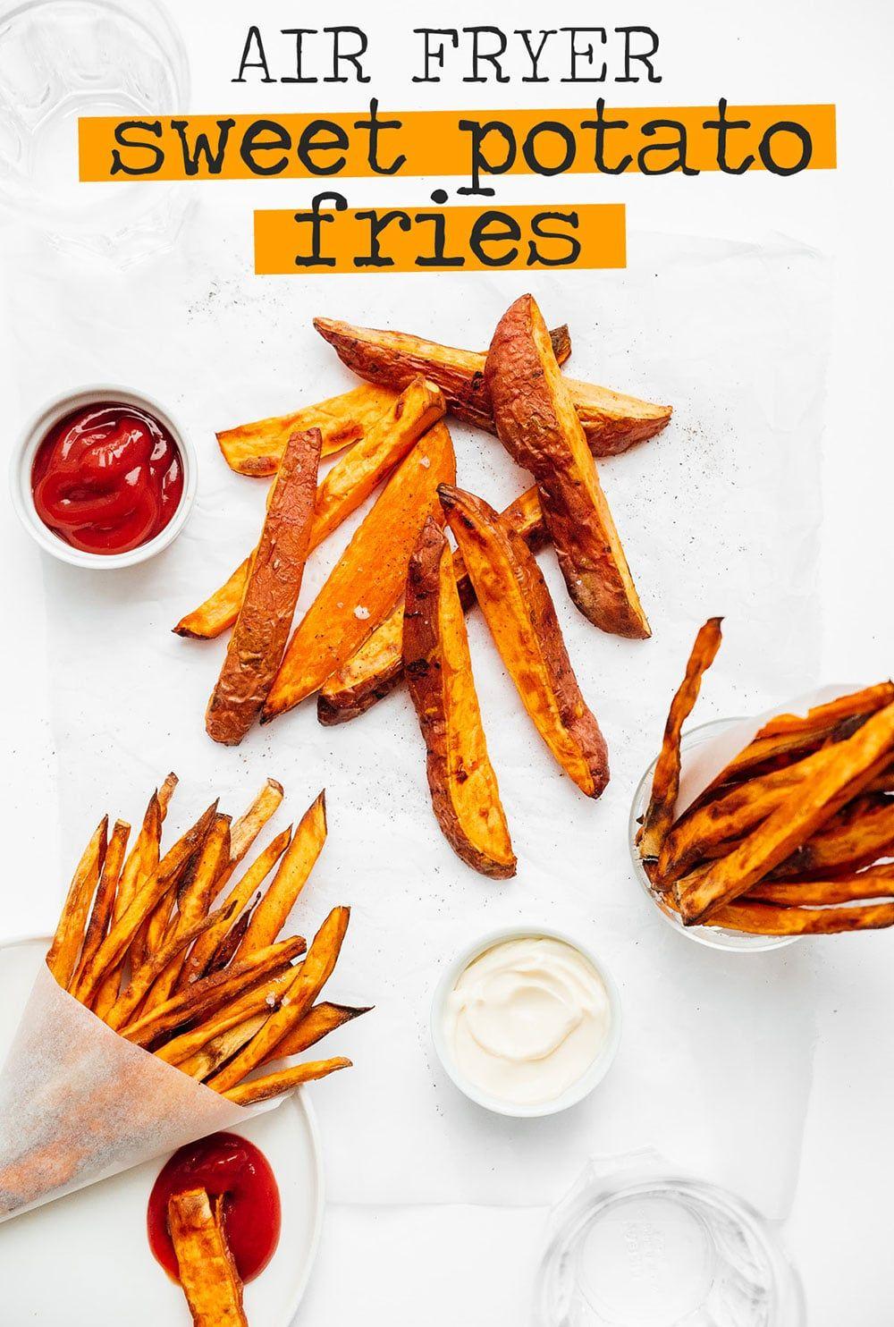 Air Fryer Sweet Potato Fries Recipe Air fryer sweet
