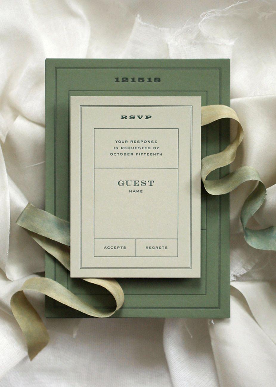 Typo boutique letterpress wedding stationery typography wedding