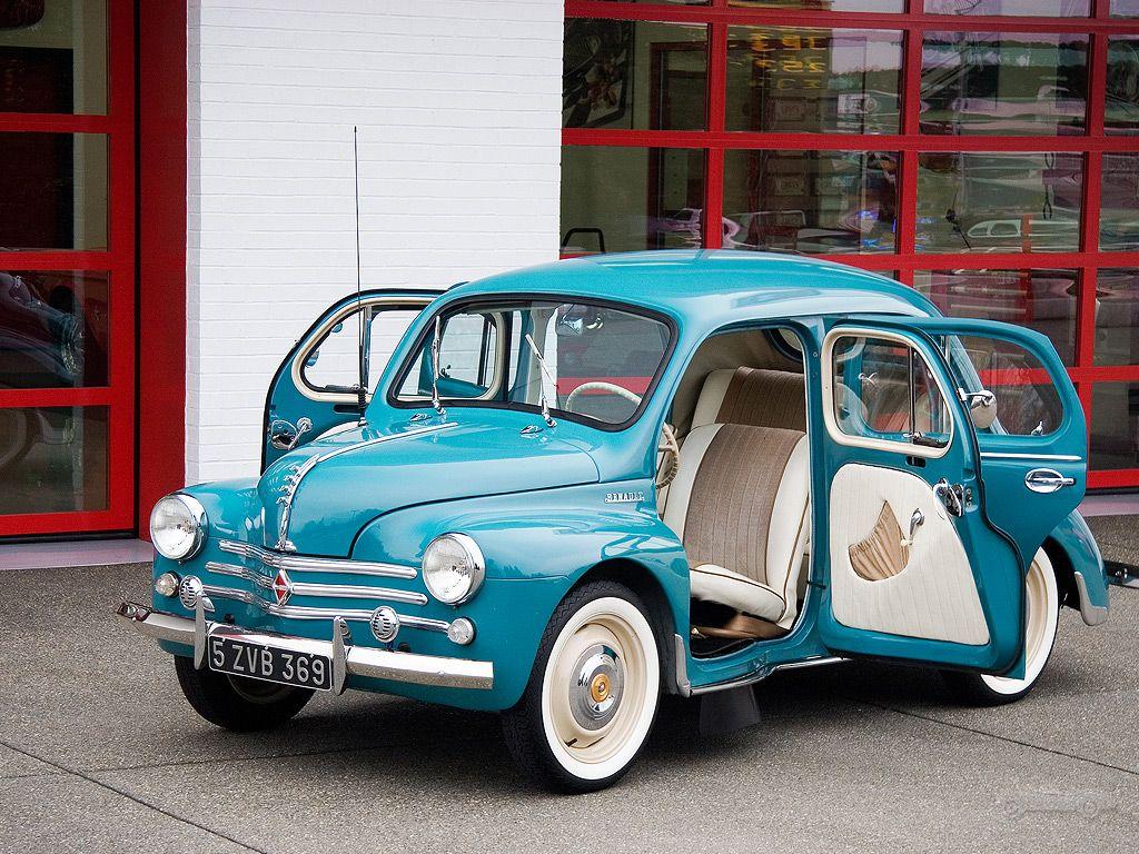 Renault 4cv Cute Cars Classic Cars Cool Cars