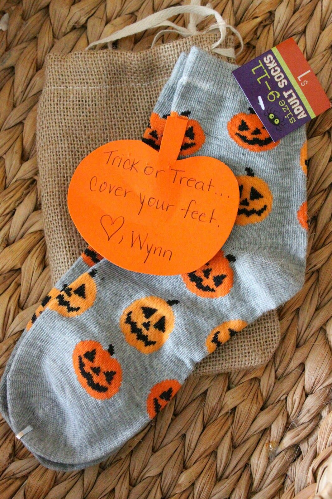 Trick Or Treat Ver Your Feet Quick And Cute