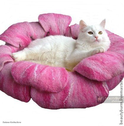 """Лежак для кошек """"Paradise Flower"""" № 1 - лежанка для кошки,лежанка для собаки"""