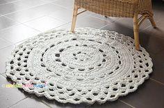 Lavori Con La Fettuccia Alluncinetto Tappeti Crochet Yarn Diy