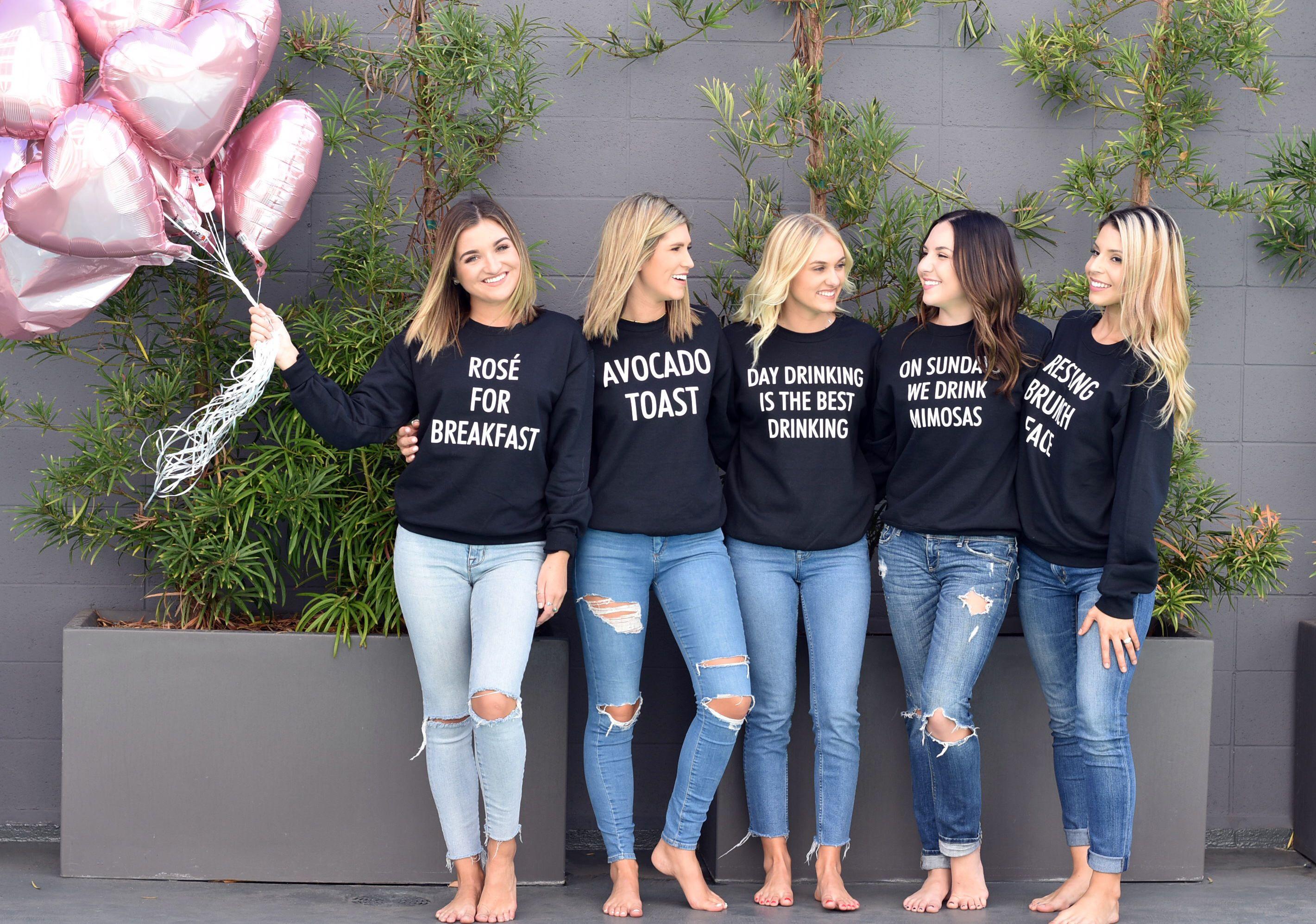 Brunch Shirt Bachelorette Sweatshirt Bachelorette