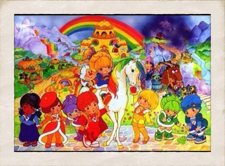 regina regenbogen mit bildern  schaukelpferd baby