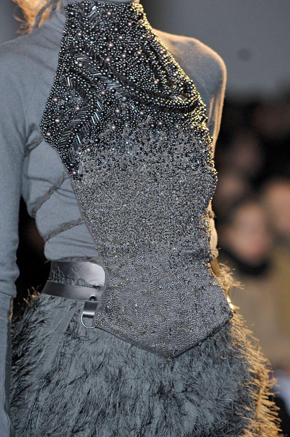 ZsaZsa Bellagio   Fashion, Grey fashion, Fashion details