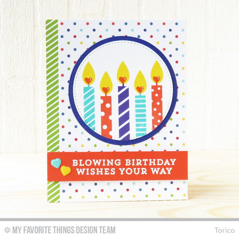 Its The First Day Of MFT June Card Kit Countdown This Months Make A Wish Features Birthday Theme