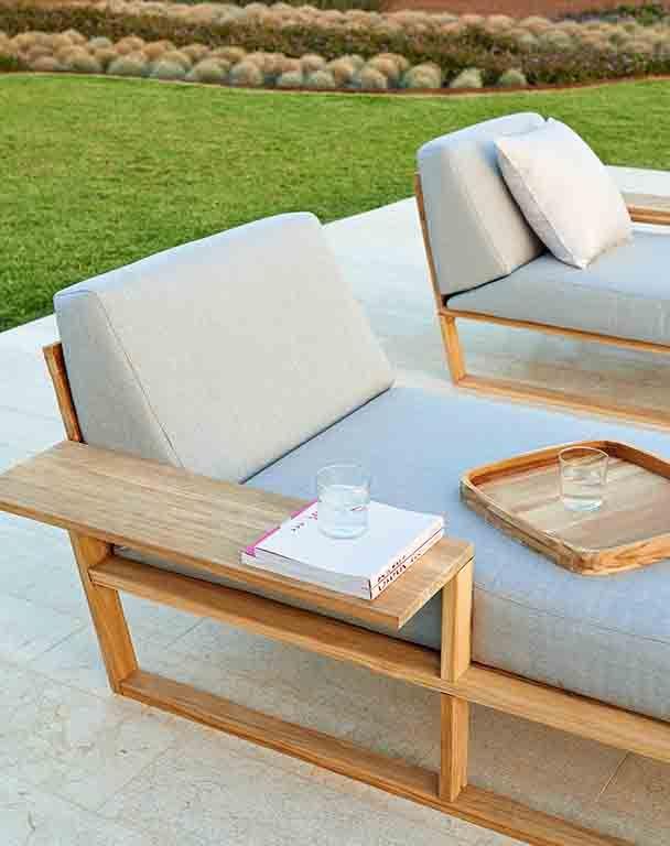 Lineal Lounge Sessel Garten Garten Lounge Mobelideen