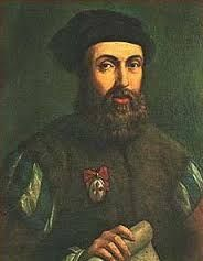 Fernão de Magalhães  Geboren: 1480, Sabrosa, Portugal Overleden: 27 april 1521, Mactan, Filipijnen