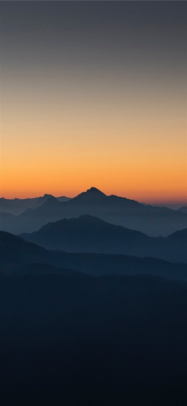 Grigna Meridionale Italy iPhone X wallpaper sunrise