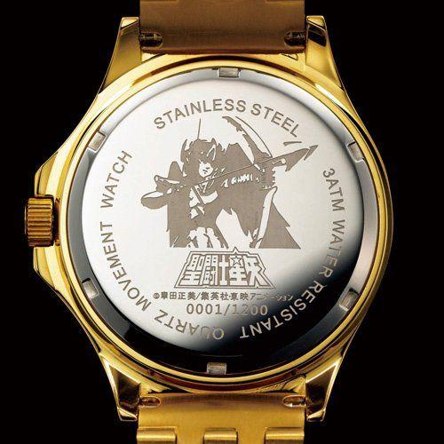 Saint Seiya Official Wrist Watch L Size LEGEND of SANCTUARY 1200pcs Limited 2014 JAPAN