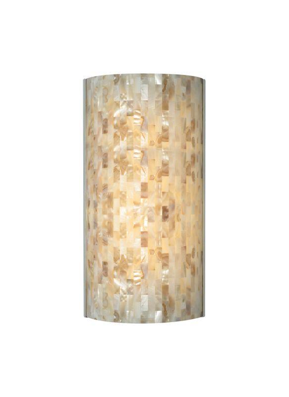 Tech Lighting 700wsplafn Playa Flush Multi Toned Natural Shell