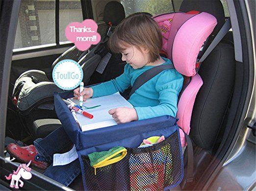 children 39 s play tray tablette si ge auto enfant b b plaque pliable dessin peinture plateau de. Black Bedroom Furniture Sets. Home Design Ideas