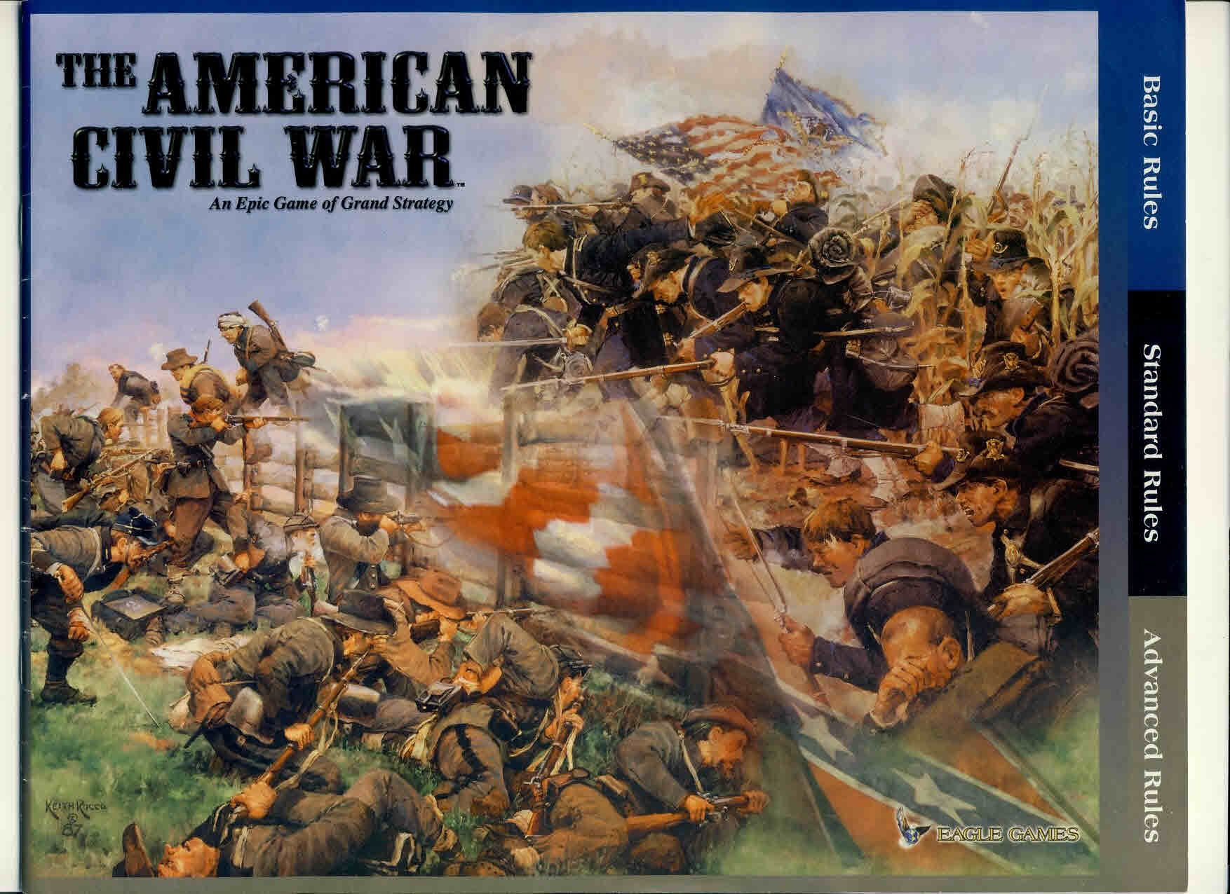 The American Civil War Eagle Game Rules 32 pages