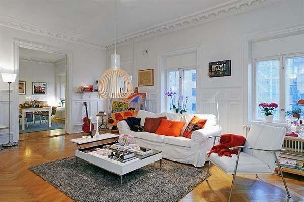 lovely scandinavian living room interior design ideas home design