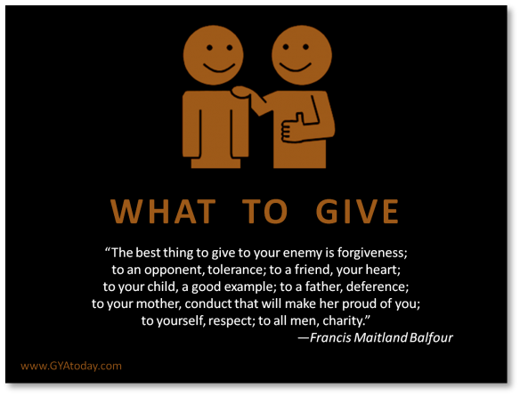 What-To-Give