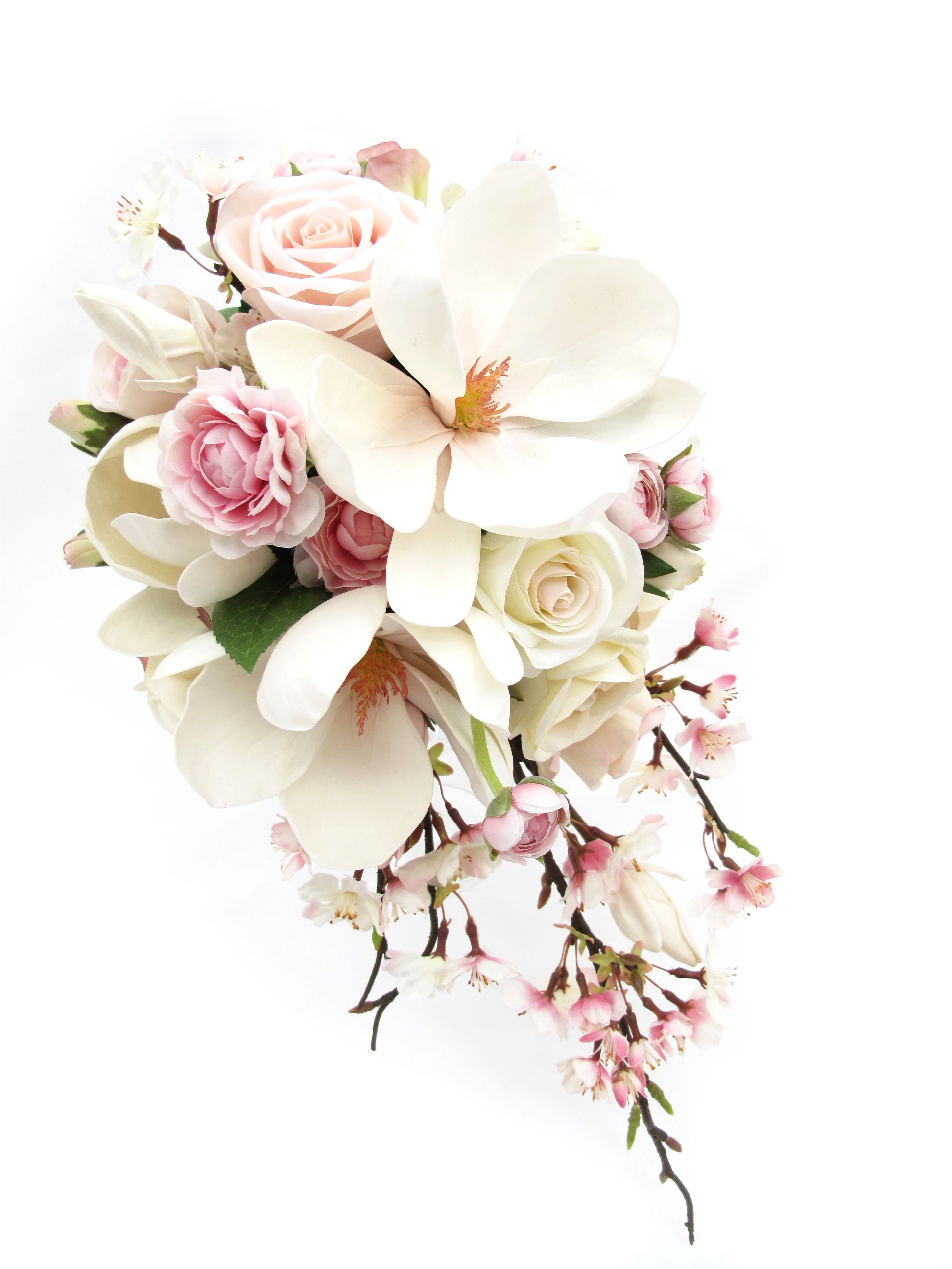 Wedding bouquets teardrop  Trail bouquet by Loveflowers Find your perfect wedding flowers at
