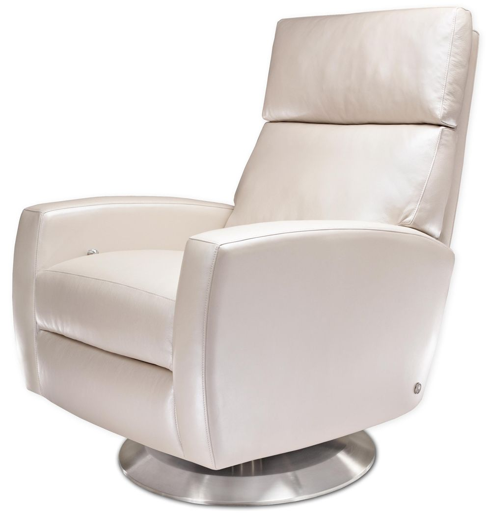 american leather chairs and recliners swivel barrel chair snow white ella recliner from treeforms perfect for a sleek space