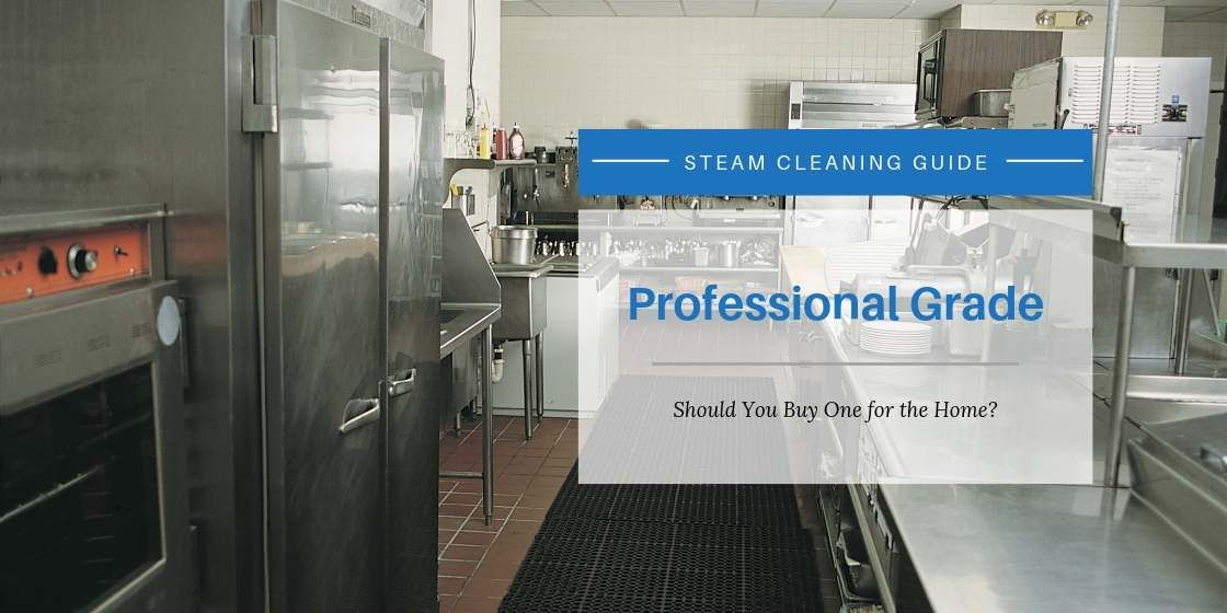 Should You Buy a Professional Steam Cleaner for Home Use