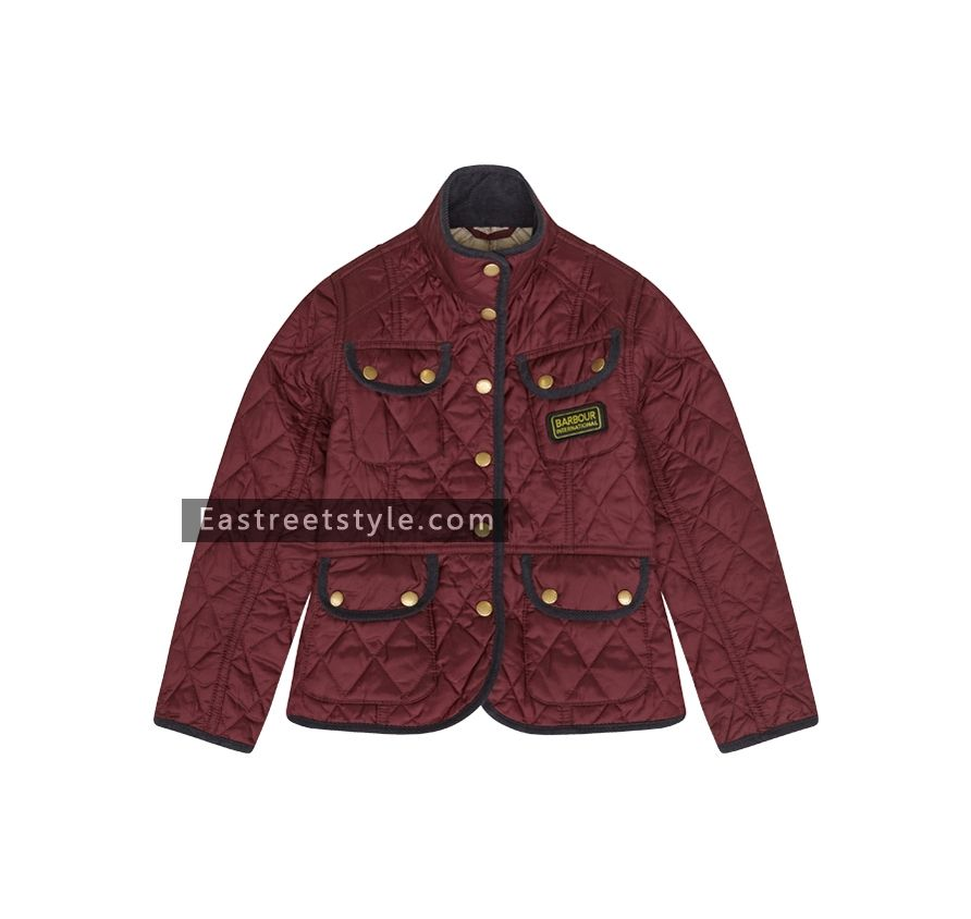 Barbour Girl's Vintage International Quilted Jacket at www ... : barbour quilted jackets sale - Adamdwight.com