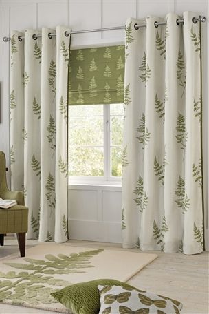 Fern Print Curtains From Next Http Www Next Co Uk X531070s3