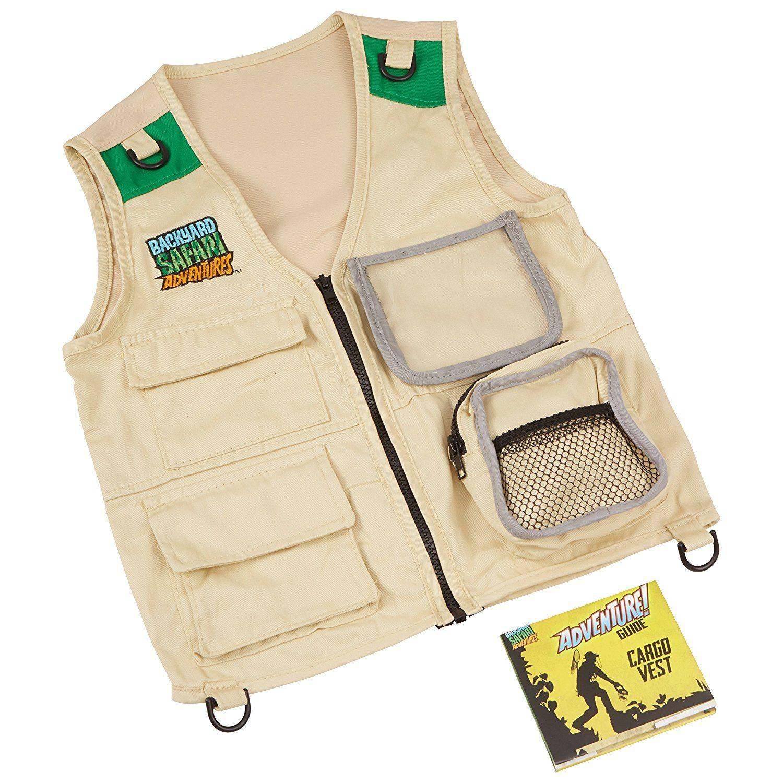 Amazon Backyard Safari Cargo Vest Toys & Games