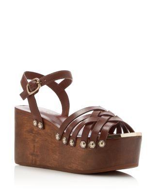 65f71ef47bd6 RACHEL ZOE Mae Flatform Clog Sandals.  rachelzoe  shoes  flats ...