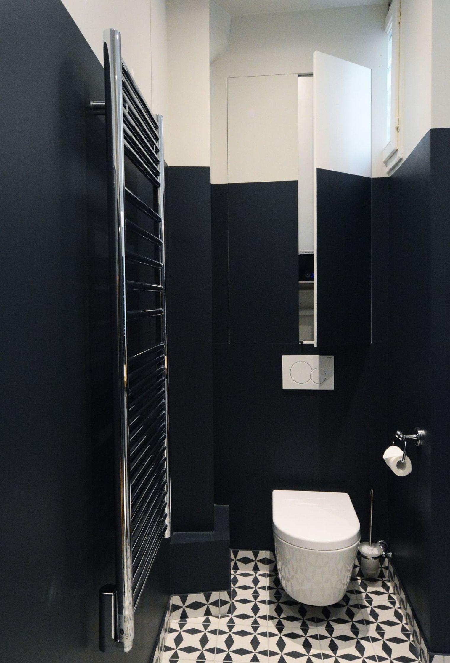 Déco toilettes : avant après de pro pour refaire ses WC ...