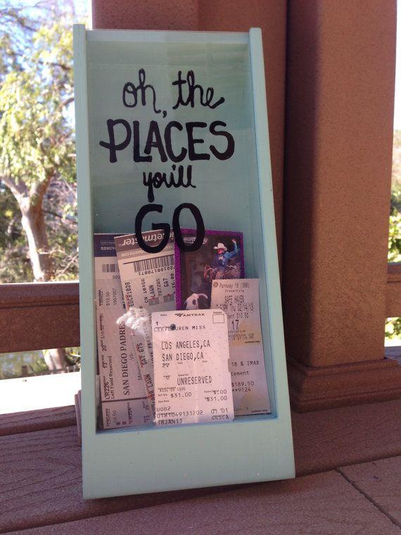 Ticket Stub Shadow Box DIY Pinterest Ticket stubs, Shadow - make concert tickets