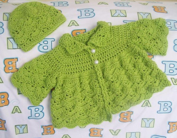 Free Crochet Baby Sweater Patterns for Butterfly | Projects to Try ...