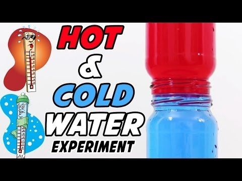 an experiment to find whether hot water or cold water freezes first A container of hot water should take longer to turn into ice than a container of cold water, because the cold water has a head start in the race to zero degrees celsius but under scientific.