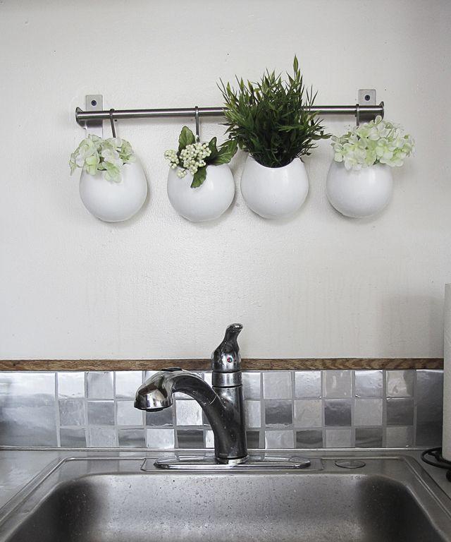 Kitchen Backsplash Contact Paper diy backsplash with contact paper} | {diy fabulous} | pinterest