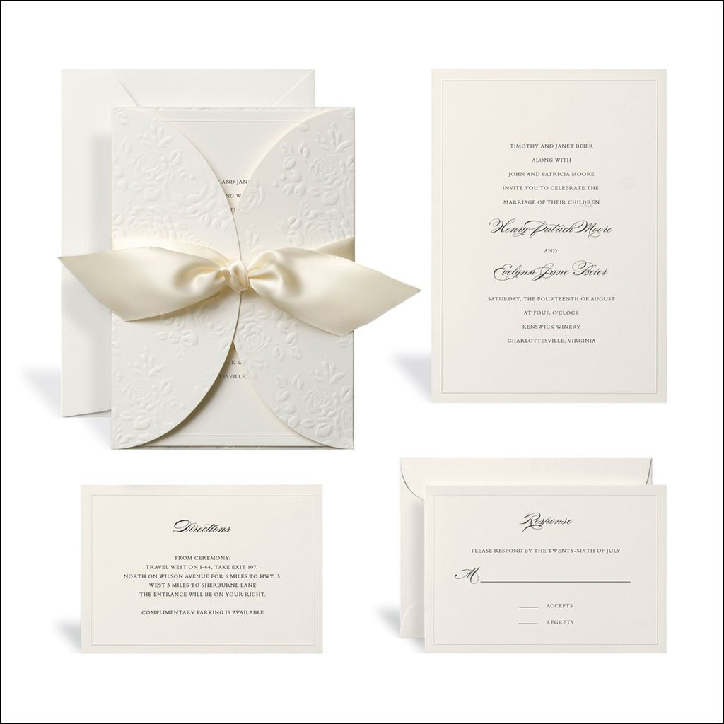 printable wedding invitation kits michaels - Michaels Wedding Invites