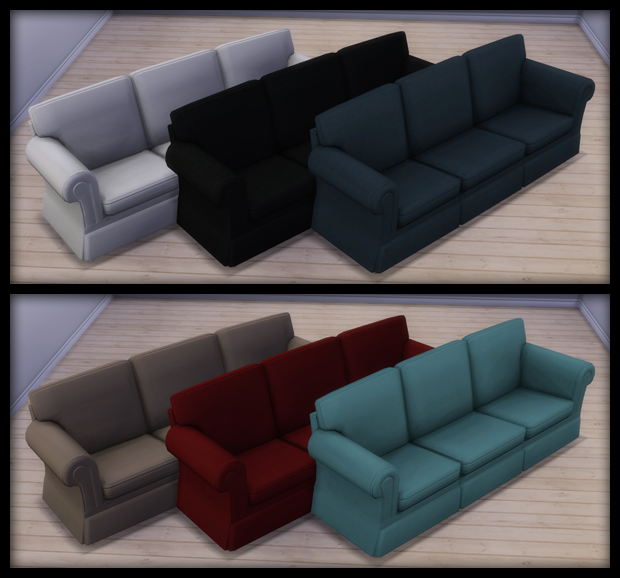 Black Pearl Sims: Hipster Hugger Sofa U0026 Simplicit Ease Chair By