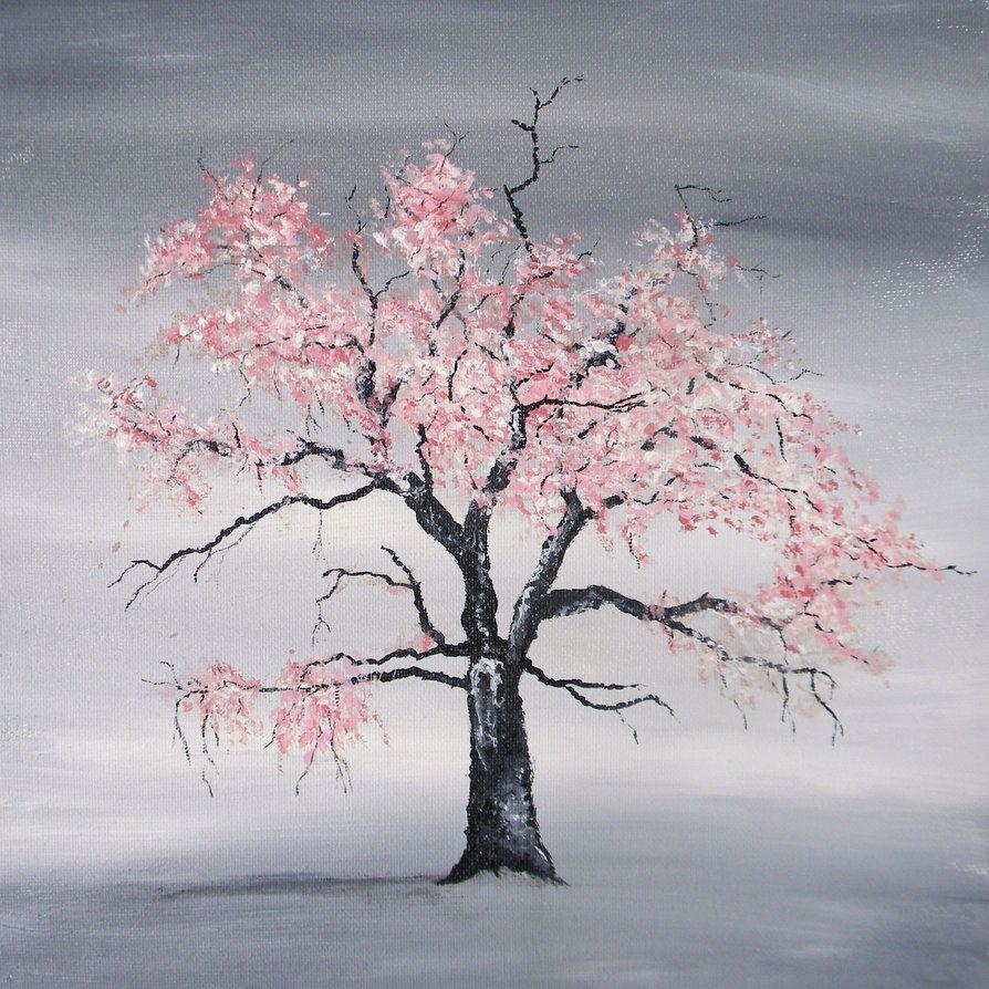 Black Cherry Tree By Blablover5 Cherry Blossom Tree Tattoo Cherry Tree Tattoos Blossom Tree Tattoo
