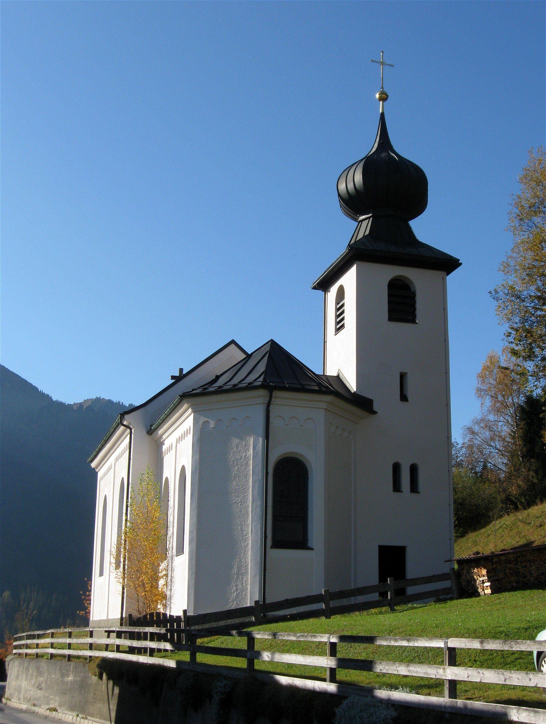 By Larue Architects: St. Joseph Wall Church; Oberaudorf, Bavaria, Germany; Main Building (1889); Tower (1954)