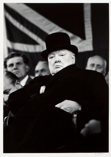 CARL MYDANS (American, 19072007). Winston Churchill, 1955