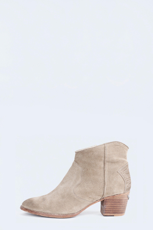 Boots plates en daim uni avec paillettesAnniel 4UCl9aUg1
